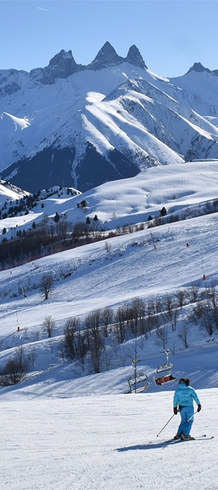 Sihame El Horfi, Monitrice de ski